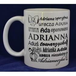 Kubek z imieniem Adrianna