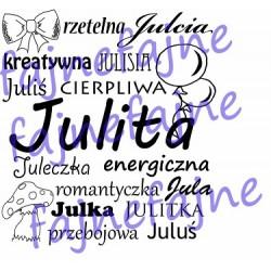 Kubek z imieniem Julita