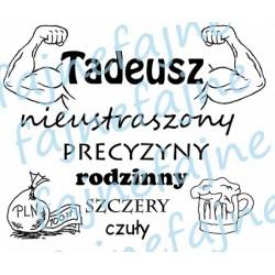 Kubek z imieniem Tadeusz