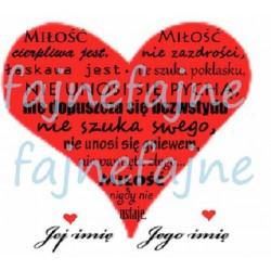 Hymn o miłości. Miłość...