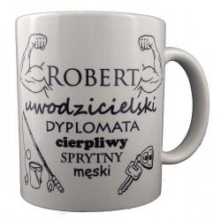 Kubek z imieniem Robert