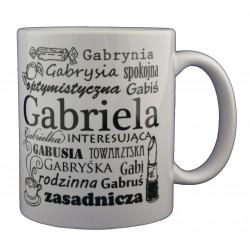 Kubek z imieniem Gabriela