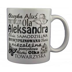 Kubek z imieniem Aleksandra