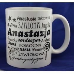 Kubek z imieniem Anastazja