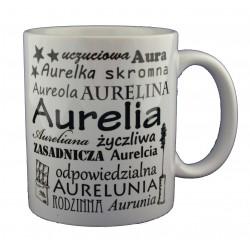 Kubek z imieniem Aurelia