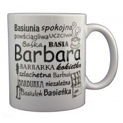 Kubek z imieniem Barbara