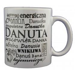 Kubek z imieniem Danuta